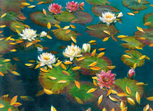 Lily Pad II by Elise Lunden