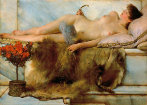 In the Tepidarium by Sir Lawrence Alma-Tadema