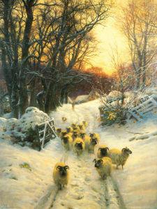 The sun had closed by Joseph Farquharson