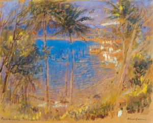 Port Antonie, Jamaica by Albert Goodwin