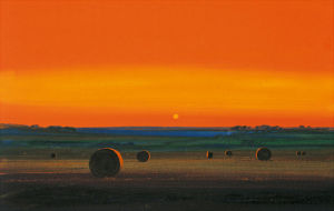Harvest Evening by Paul Evans