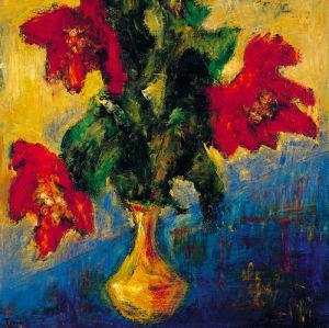 Fleurs D' Automne II by Tina