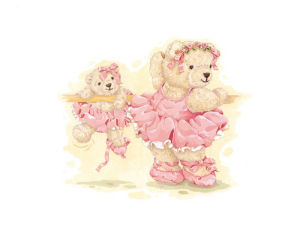 Ballerina Bears I by Sarah Bengry