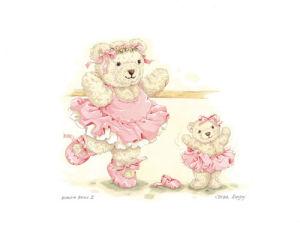 Ballerina Bears II by Sarah Bengry