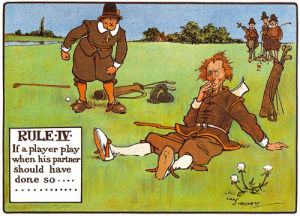 Rules of Golf - Rule IV by Charles Crombie