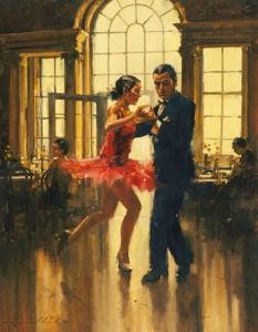 Dance to the music (small) by Raymond Leech
