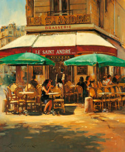 A woman left lonely by Raymond Leech