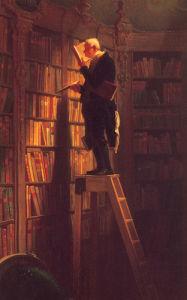 The Bookworm (s) by Carl Spitzweg