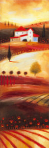 Tuscan Panel I by Ronald Sweeney
