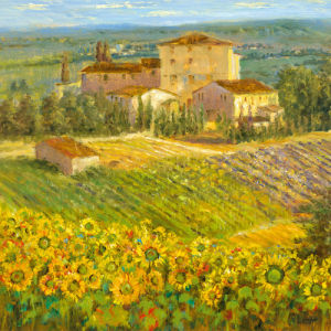 Provencal Village III by Longo
