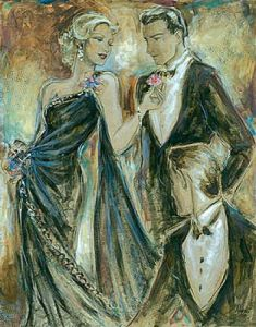 Black tie affair I by Karen Dupré