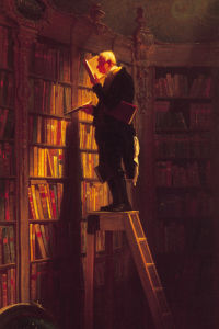 The Bookworm (xl) by Carl Spitzweg