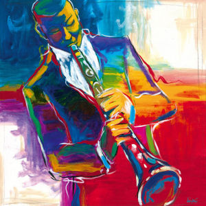 Color Quartet II by Karen Dupré