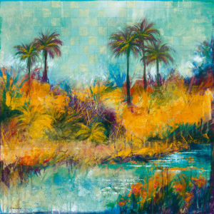 Tropical Evening II by Daniels