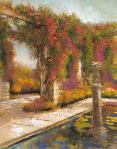 English Garden I by Patrick