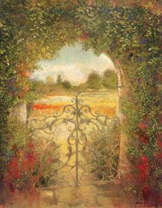 English Garden III by Patrick