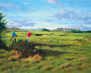 St. Andrews 2nd - Dyke by Peter Munro
