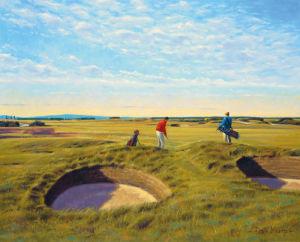 St. Andrews 10th - Bobby Jones by Peter Munro