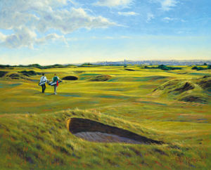 St. Andrews 13th - Hole O'Cross (in) by Peter Munro