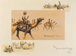 The Somali Camel Corps by Charles Johnson Payne (Snaffles)