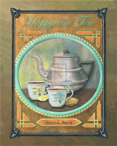 Happy Time Tea by Jan Sacca