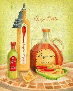 Cuisine Du Monde IV by Sophia Sanchez