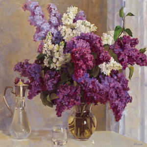 Lilac Mist I by Valeriy Chuikov