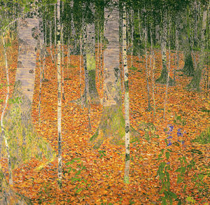 The Birch Wood, 1903 by Gustav Klimt