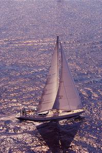 Silver Sea I by Ingrid Abery