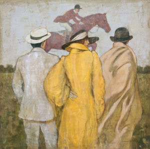 At the race by Francois Fressinier