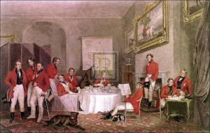 The melton breakfast by Sir Francis Grant