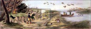 Wild duck shooting by Henry Alken