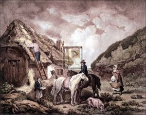The Thatchers by George Morland
