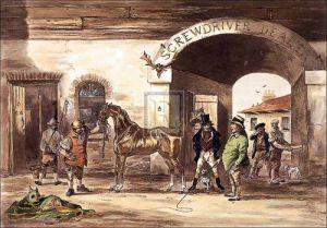 Horse Dealing I by Robert Richard Scanlan