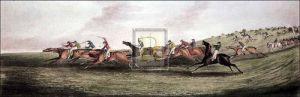Epsom: Running by Henry Alken