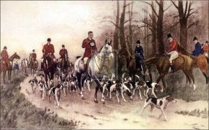The hounds by George Wright