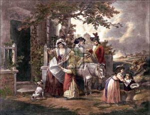 Selling Cherries by George Morland