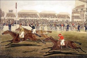 The Derby, 1848 by Charles Hunt
