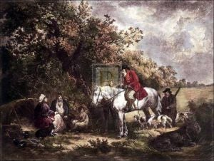 Morning or Benevolent sportsman by George Morland
