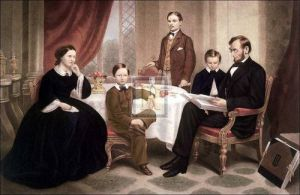The Lincoln Family by F.B. Carpenter