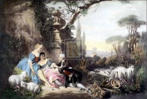 The charms of country life by Francois Boucher