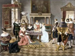 The contract of marriage by F. Giusto