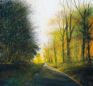 Autumn Lane by Paul Evans