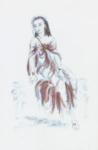 Designs For Cleopatra XV by Oliver Messel
