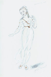Designs For Cleopatra XIX by Oliver Messel