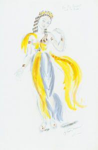 Designs For Cleopatra XXVIII by Oliver Messel