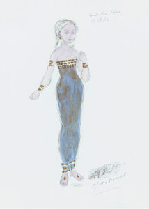 Designs For Cleopatra XXIX by Oliver Messel