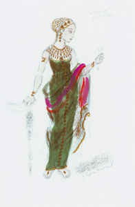 Designs For Cleopatra XLII by Oliver Messel