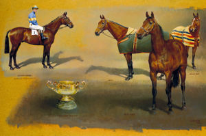 Triple Winners of the Cheltenham by Susan Crawford
