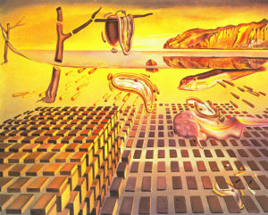 The disintegration of the persistence of memory, 1952 by Salvador Dali